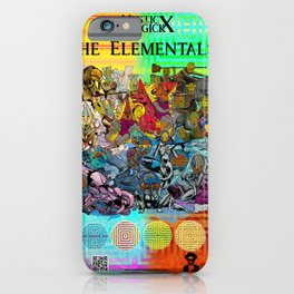 Mysticx & Magick: The Elemental Tribes of the Lost Continent - Art Cover iPhone Case