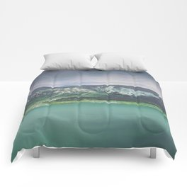 Blue L. in Green Comforters