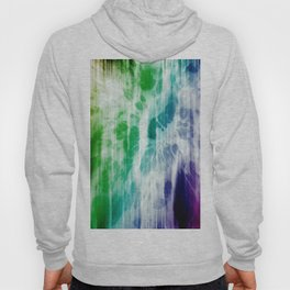 Retro, Boho Chic Tye-Dye Pattern Hoody