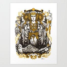 IBERIAN HECATE Art Print