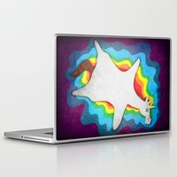 rug Laptop & iPad Skins featuring Unicorn Rug by That's So Unicorny