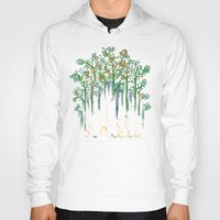 forest Hoodies featuring Re-paint the Forest by Picomodi