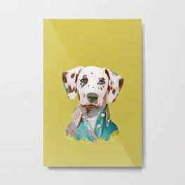 Dalmatian Metal Print