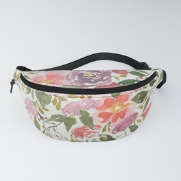 Loose Purple Bouquet Fanny Pack