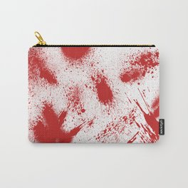 Bloody Blood Spatter Halloween Carry-All Pouch