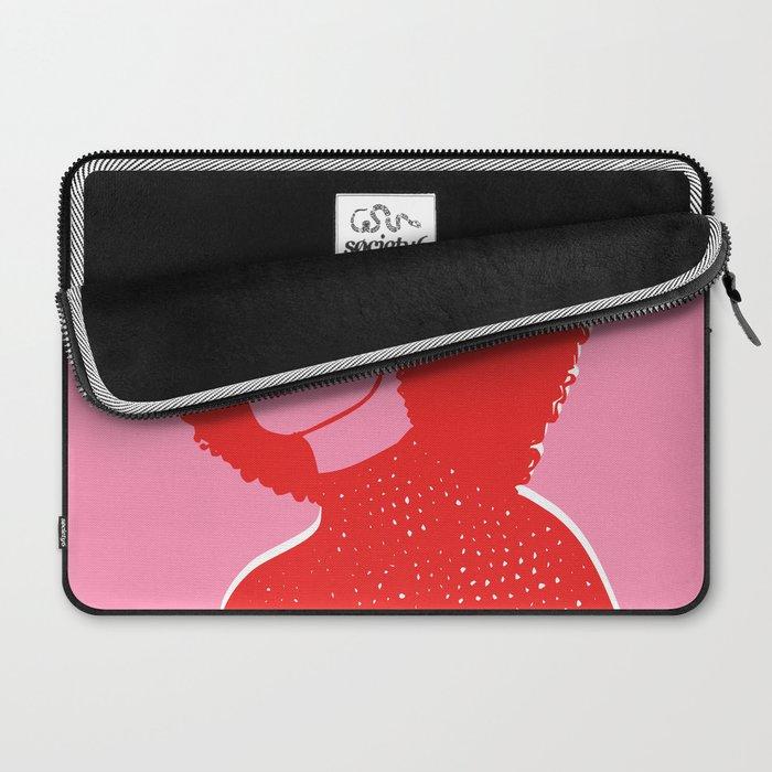Kara Pink Laptop Sleeve