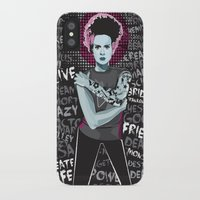 bride iPhone & iPod Cases featuring Bride by Matt Fontaine Creative