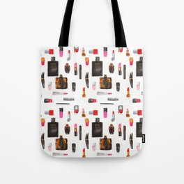 Fashion illustration pattern Tote Bag
