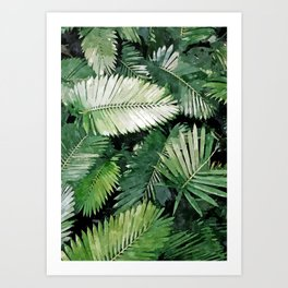 Life is better with palm trees #painting Art Print