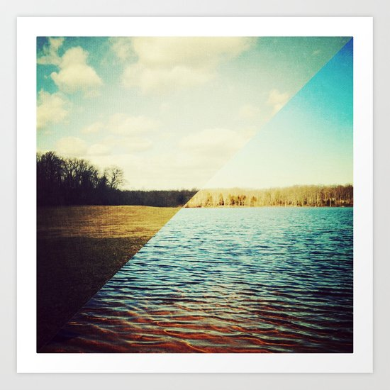 land/water Art Print