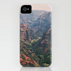 Vintage Hawaii Canyon Slim Case iPhone (4, 4s)