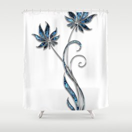 Decor Ornament Jewelry Shower Curtain