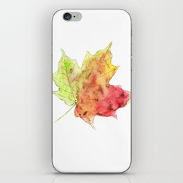 Fall Leaf #2 iPhone Skin