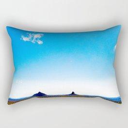 Glasshouse Mountains Rectangular Pillow
