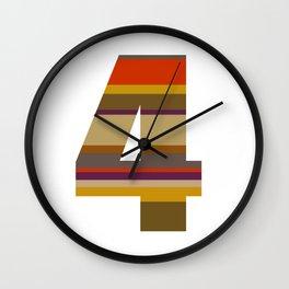 4 Who? Wall Clock