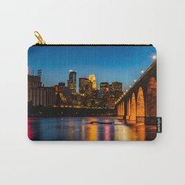 Stone Arch Bridge Illuminated Carry-All Pouch