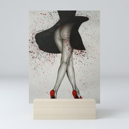 Red Heels Mini Art Print