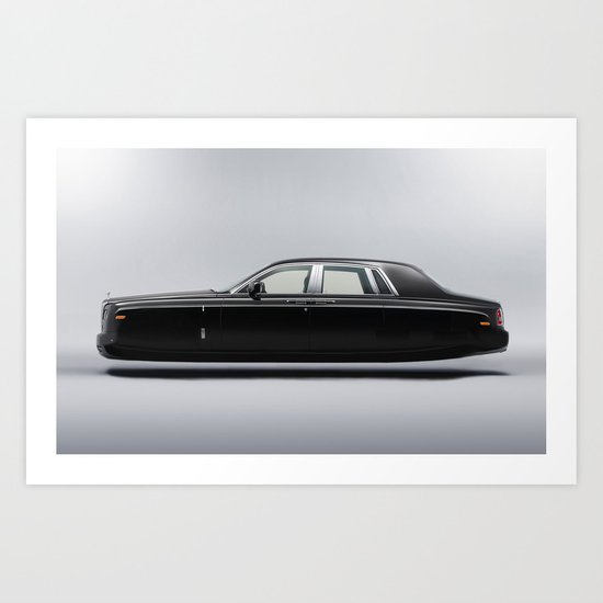 Rolls Royce Hover Car  Art Print