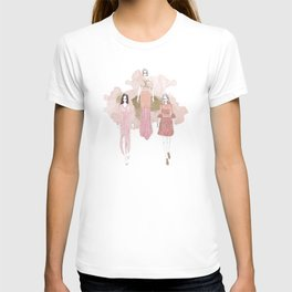 Pink and Gold T-shirt