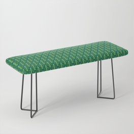 Forest Guardians Pattern Bench