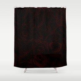 Lawa  (A7 B0088) Shower Curtain