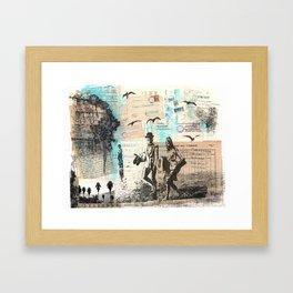Long Hot Summer Framed Art Print