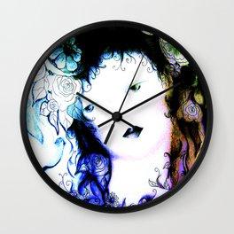ink fairy Wall Clock