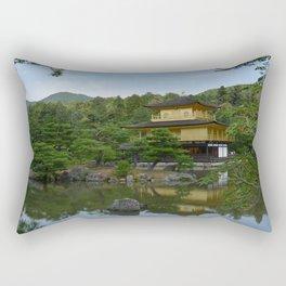 Gold Pavillion Rectangular Pillow