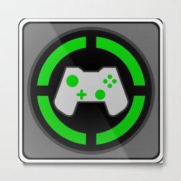 Xbox Gamer Metal Print