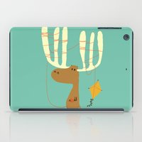 canada iPad Cases featuring A moose ing by Picomodi
