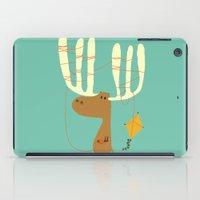 budi satria kwan iPad Cases featuring A moose ing by Picomodi
