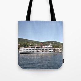 Lac du Saint Sacrement Steamboat Tote Bag