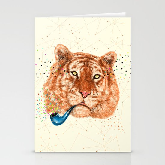 TIGER CRY I Stationery Cards