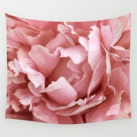 peony Wall Tapestries featuring Peony by Cindi Ressler Photography
