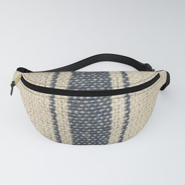 Vintage French Farmhouse Grain Sack Fanny Pack