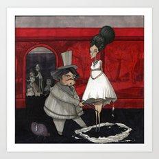 The Dressmaker. Art Print
