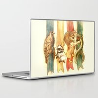 potter Laptop & iPad Skins featuring House Brawl by Alice X. Zhang