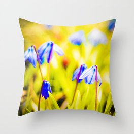 Morning Light Throw Pillow
