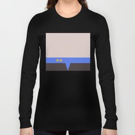 Julian Bashir - Minimalist Star Trek DS9 Deep Space Nine - Doctor Bashir  - startrek - Trektangles Long Sleeve T-shirt