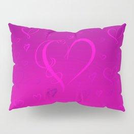 Simple hearts pattern Pillow Sham