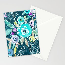 BEAUTY AND THE BADASS FLORAL Stationery Cards