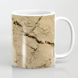 parched earth texture Coffee Mug