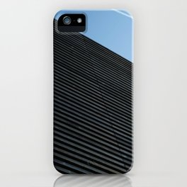 Clear sky pattern iPhone Case