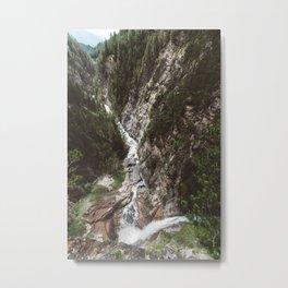Switzerland river Metal Print