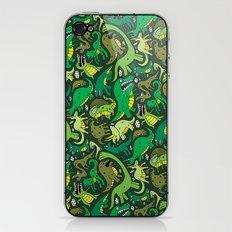 Dino Pattern iPhone & iPod Skin