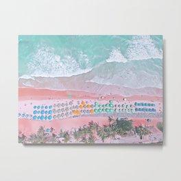 aerial beach I Metal Print