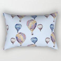 Floating Balloons Rectangular Pillow