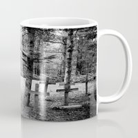 not all who wander are lost Mugs featuring Not All Who Wander Are Lost by Olivia Joy StClaire