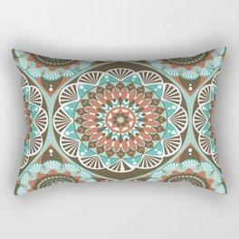 Toned Variety Pattern Rectangular Pillow
