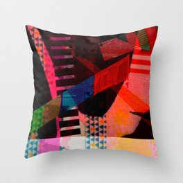 Snakes and Ladders series 3 Throw Pillow